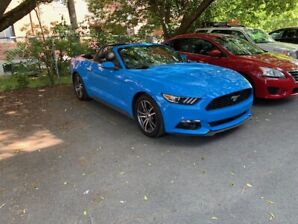 2017 Ford Mustang PREMIUM CONVERTIBLE ECOBOOST MAGS
