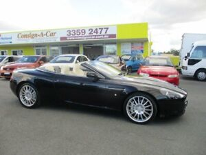 2005 Aston Martin DB9 MY05 Volante Black 6 Speed Sports Automatic Convertible Kedron Brisbane North East Preview