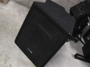 PA/DJ Speakers for sale or trade