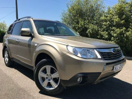 2008 Subaru Forester MY09 XS Gold 5 Speed Manual Wagon Hoppers Crossing Wyndham Area Preview