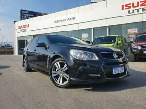 2014 Holden Commodore VF MY14 SV6 Sportwagon Black 6 Speed Sports Automatic Wagon Osborne Park Stirling Area Preview