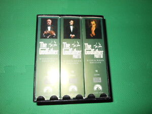 The Godfather Collection Box Set 6 VHS, Drama Widescreen Edition Gatineau Ottawa / Gatineau Area image 2