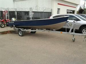 MirroCraft Boat with Trailer and Motor