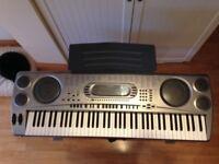 Casio WK-1800 electric keyboard.
