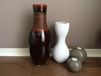 Decorative Vases and Candle Holders