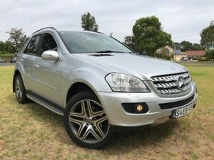 2005 Mercedes-Benz ML350 W163 MY04 Luxury Silver 5 Speed Sports Automatic Wagon Somerton Park Holdfast Bay Preview
