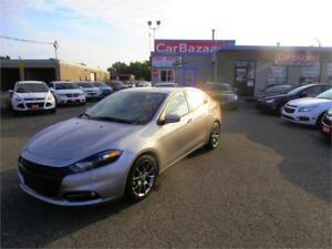 2014 DODGE DART SXT 4 CYL LIKE BRAND NEW LOW LOW KM EASY FINANCE
