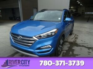 2017 Hyundai Tucson AWD LIMITED 1.6T Navigation (GPS),  Leather,