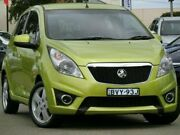 2010 Holden Barina Spark MJ MY11 CDX Green 5 Speed Manual Hatchback Condell Park Bankstown Area Preview