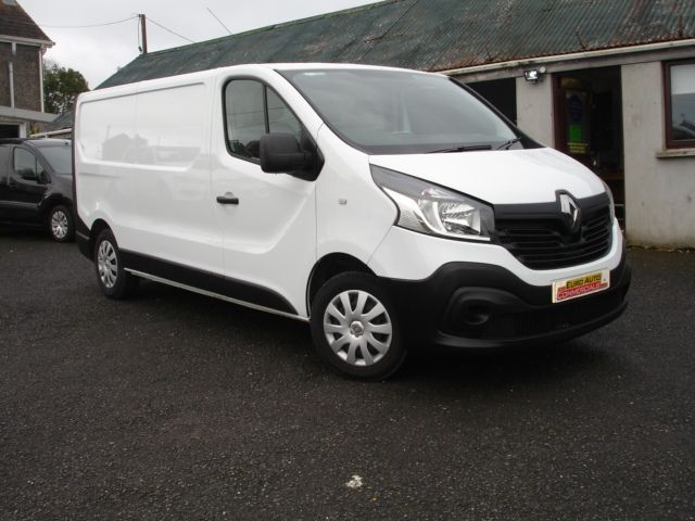 RENAULT TRAFIC 1.6 LL29 BUSINESS DCI S/R P/V 1d 115 BHP (white) 2014