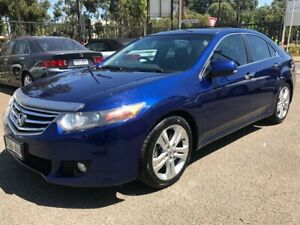 2011 Honda Accord 10 MY12 Euro Luxury Cobalt Blue 5 Speed Automatic Sedan Woodville Park Charles Sturt Area Preview