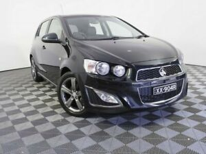 2014 Holden Barina TM MY14 RS Black 6 Speed Manual Hatchback Wayville Unley Area Preview