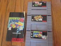 3 Super Nintendo games for 1 price $20.00, located in East Hamil