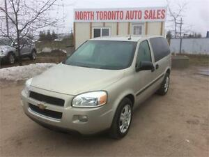 2008 CHEVROLET UPLANDER LS - LOW KM - POWER OPTIONS