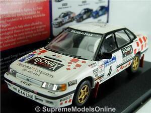 SUBARU LEGACY RS RICHARD BURNS CAR MODEL 1/43RD SCALE MANX RALLY 1999 Y0675J^*^
