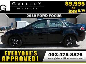 2010 Ford Focus SES $89 bi-weekly APPLY NOW DRIVE NOW
