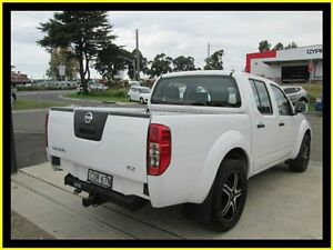 2013 Nissan Navara D40 MY13 RX (4x2) White 5 Speed Automatic Dual Cab Pick-up Penrith Penrith Area Preview