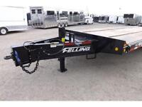 25 TON AIR FLOAT BY FELLING - 30FT DECK - 1 NEW - 1 USED