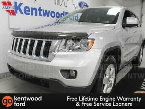 2011 Jeep Grand Cherokee Laredo 4x4 with power leather seats and