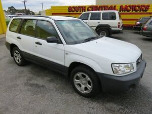 2003 Subaru Forester MY03 X White 4 Speed Automatic Wagon Reynella Morphett Vale Area Preview