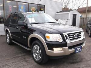 2008 FORD EXPLORER EDDIE BAUER * 4X4 * 7 PASS * SUNROOF  LEATHER