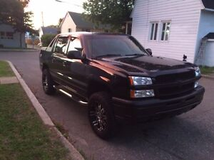 Chevrolet Avalanche Z71 off road, 4X4, 1500, 2004