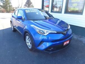 2019 Toyota C-HR XLE for only $199 bi-weekly all in!