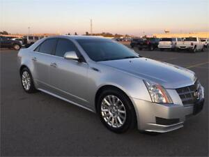 2010 CADILLAC CTS SEDAN 6SPEED LEATHER HEATED SEATS 89KM