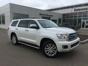 2013 Toyota Sequoia Platinum 4x4 Navi, Backup Cam, DVD, Leather