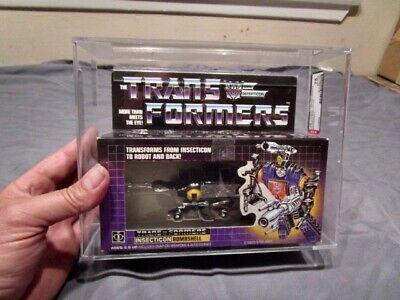 1984 Transformers AFA Insecticon Bombshell MIB BOX # 2