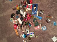 Collection of Key Chains and Pins