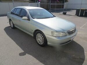 2003 Ford Fairlane BA Ghia Ice Mint Silver 4 Speed Sports Automatic Sedan St James Victoria Park Area Preview