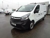 Vauxhall Vivaro 2900 1.6Cdti 120Ps H1 Van DIESEL MANUAL WHITE (2017)