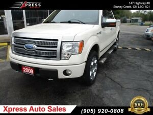 2009 Ford F-150 Platinum !! LOADED !!