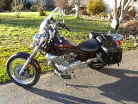 2008 Yamaha VStar 250 V-twin with over $2000 worth of extras!