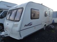 Bailey Pageant Champagne 4 berth end bathroom,walk in shower,VGC.