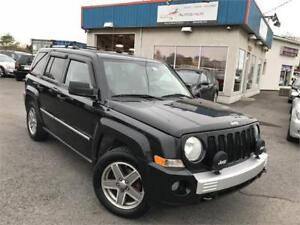 JEEP PATRIOT 2008 LIMITED 4X4 CUIR / TOIT OUVRANT/ MAGS / FULL!