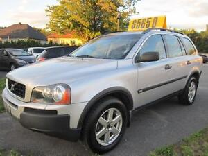 2003 Volvo XC90 XC90  CUIR TOIT OUVRANT 7 PASSAGERS AWD
