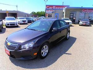 2014 Chevrolet Cruze 2LT 1.4L LEATHER CAMERA LOADED EASY FINANCE
