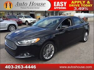 2013 Ford Fusion SE LEATHER, NAVI, BCAM, ROOF EVERYONE APPROVED