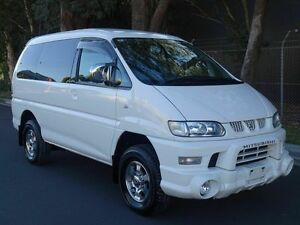 2005 Mitsubishi Delica SPACEGEAR High Roof 8 seats White 4 Speed Automatic Wagon Taren Point Sutherland Area Preview
