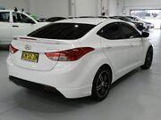 2012 Hyundai Elantra MD Active Sedan 4dr Man 6sp 1.8i White Manual Sedan Pendle Hill Parramatta Area Preview