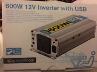 600w 12v inverter with USB Maplin car modified sine wave
