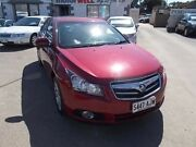 2010 Holden Cruze JG CDX Red 6 Speed Sports Automatic Sedan Gepps Cross Port Adelaide Area Preview