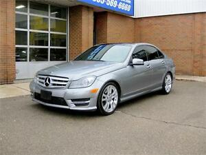 2013 Mercedes-Benz C350 4Matic + Fully Loaded + Accident Free