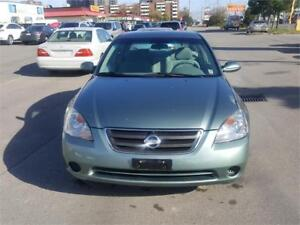 2004 NISSAN ALTIMA 2.5S EXTRA CLEAN WITH VERY LOW KMS