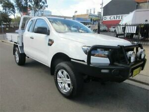 2017 Ford Ranger PX MkII MY17 XL 2.2 Hi-Rider (4x2) White 6 Speed Automatic Super Cab Chassis Croydon Burwood Area Preview