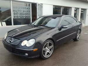 2005 MERCEDES BENZ CLK320 |  ONLY 145K |  LEATHER | NAVIGATION