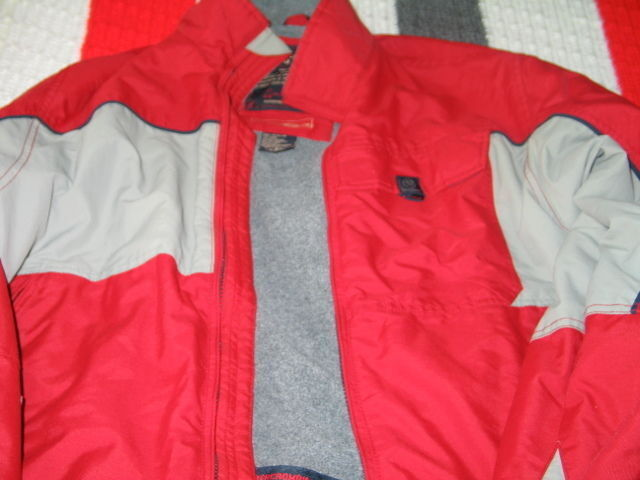 Abercrombie & Fitch Mens Snowboard Ski Outerwear Red and Gray SMALL