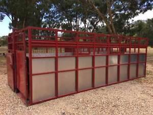 Livestock cattle crate for truck or trailer Merriwa Upper Hunter Preview